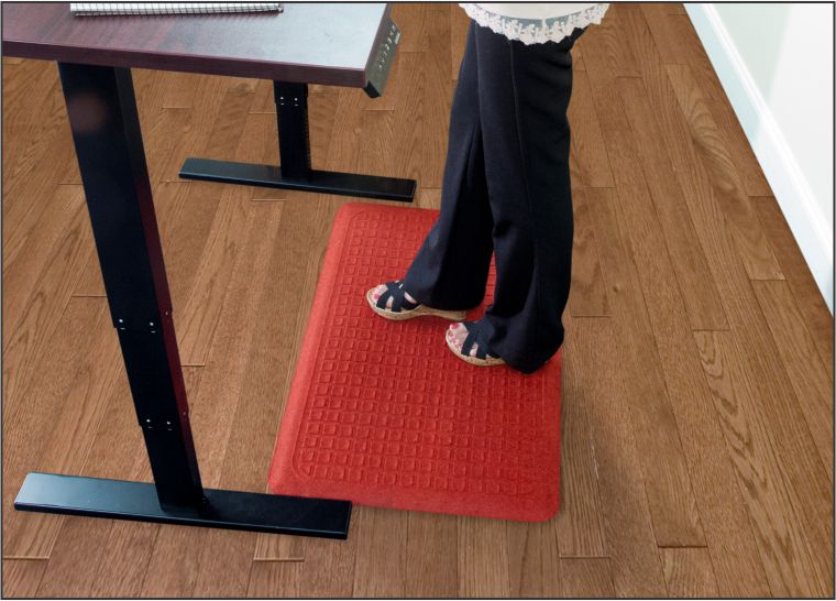 Do Standing Desk AntiFatigue Mats Really Make A