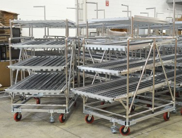Fleet Grid Flow Rack