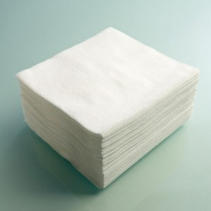 cotton cleanroom wipe