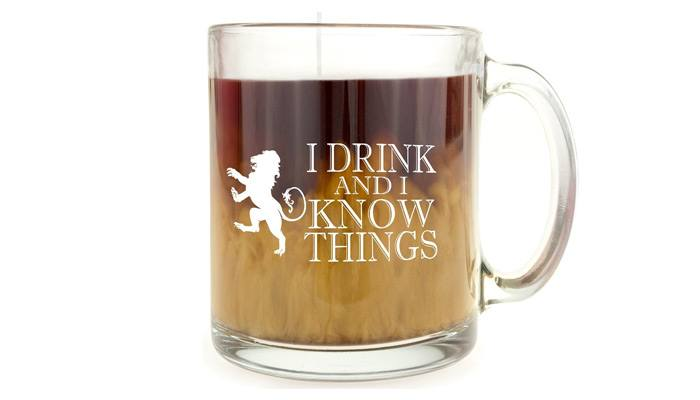 game of thrones gifts for him glass mug