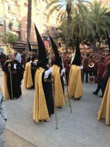 Wielkanocna procesja w Walencji