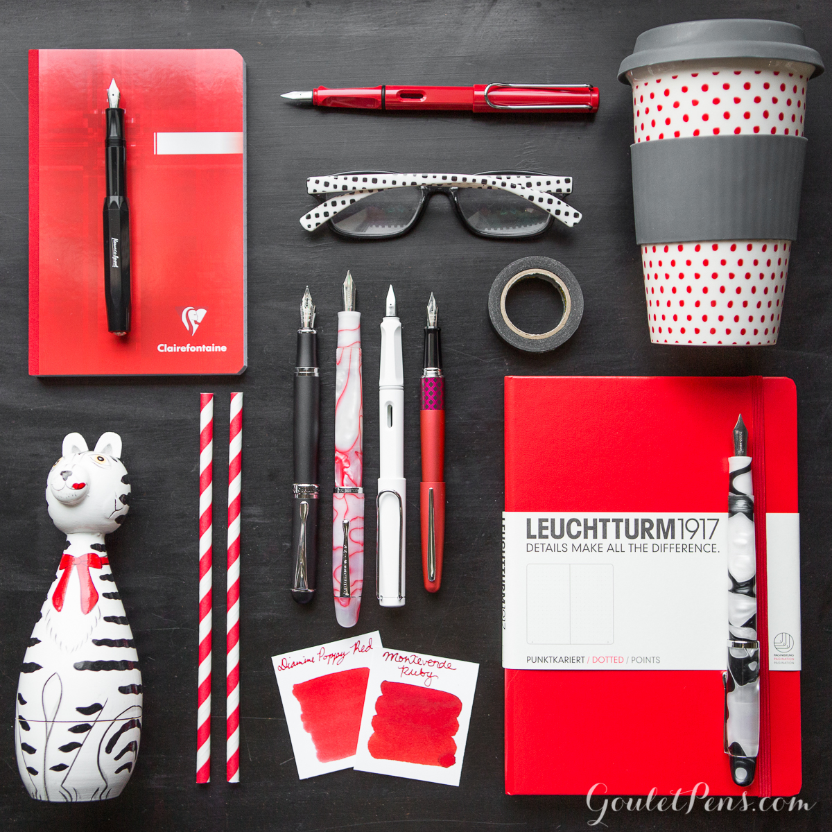Thursday Things Black And White And Red All Over Goulet