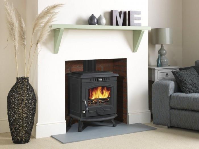Wraparound boiler or fixed boiler for woodburning stoves