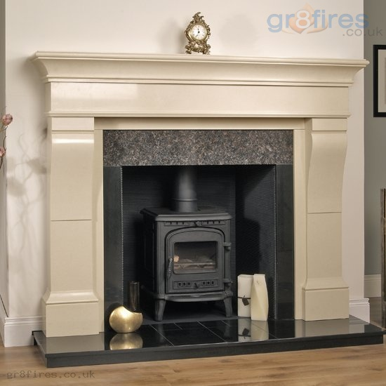 Choosing a fireplace surround for your wood