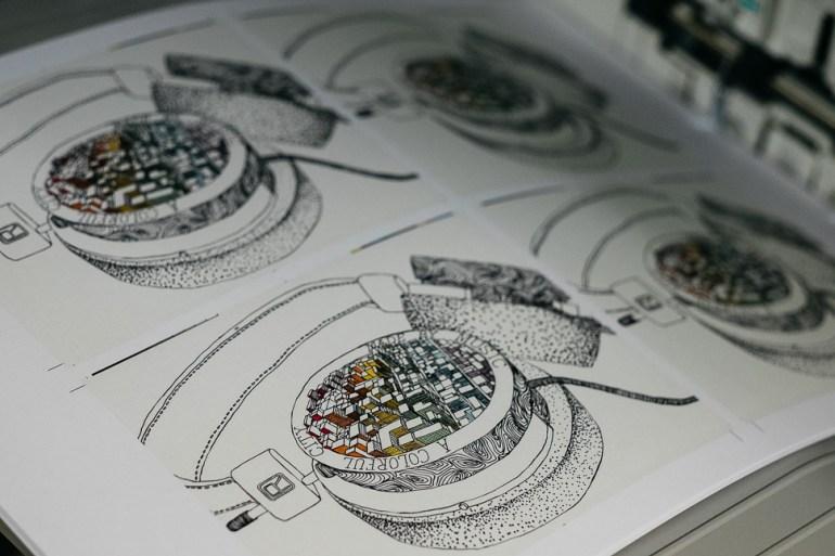 Grado Artist Series 1 with FiftyThree Printing