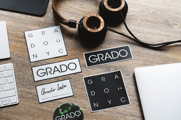 Grado Labs Stickers and RS2e