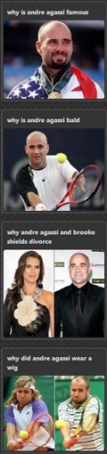 Why is Andre Agassi