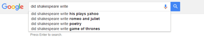 google-search-shakespeare