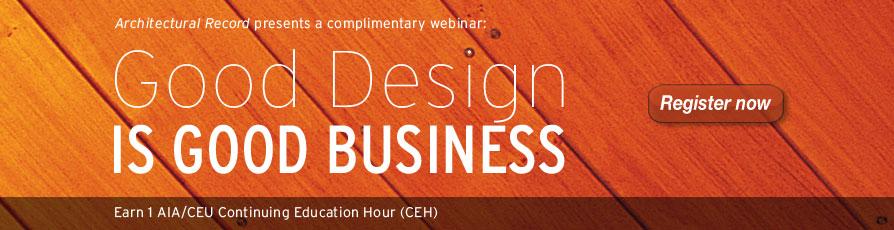 GRAPHISOFT Sponsors: Good Design is Good Business Webinar