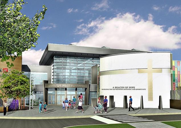 Camden's Kroc Center – Designed in ARCHICAD Hosts Presidential Visit