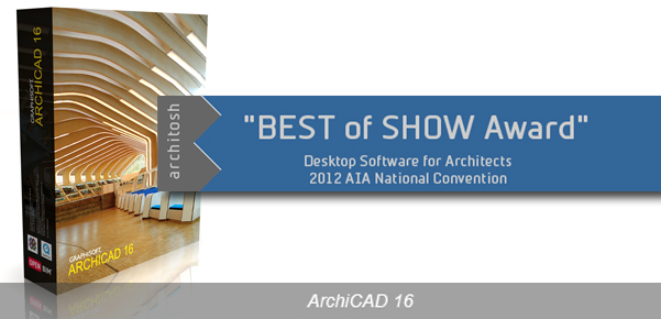 Architosh BEST of SHOW Award