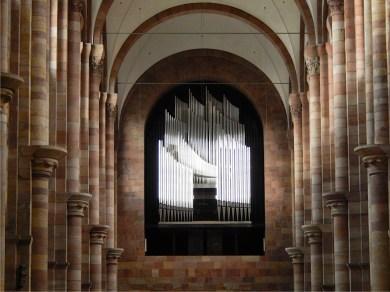 Dom zu Speyer - Orgelprospekt 14.07.2017 | Foro: Schnuppe von Gwinner