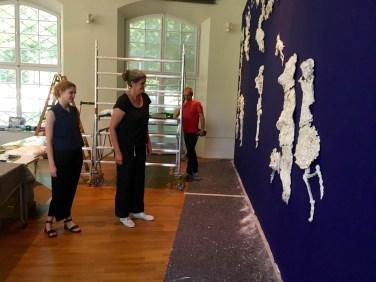 l'amour fou - Installation des tanzenden Bären| Foto: Schnuppe von Gwinner