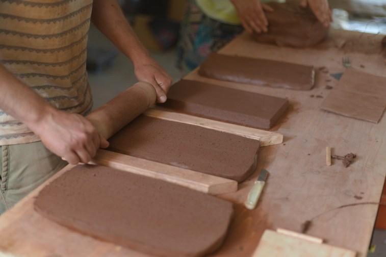 Leipzig Project | Sara Boroujeni, Majid Ziaee | Materialaufbereitung | Foto: Ali Khommami