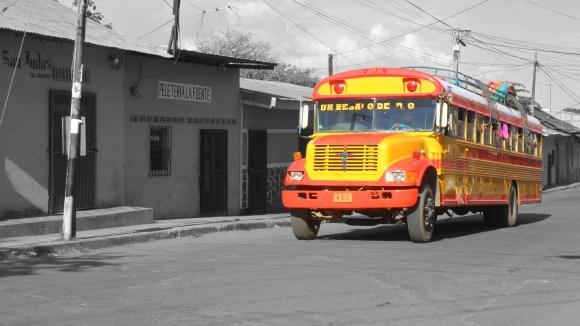 Nicaraguan Chicken Bus