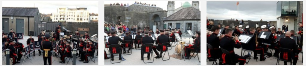 Army Band 2nd Brigade at Athlone Castle - Athlone - Mozilla Firefox
