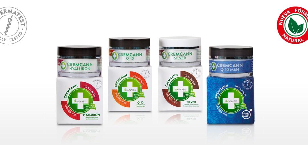 Este 2017 estrenamos CREMCANN con nueva fórmula natural