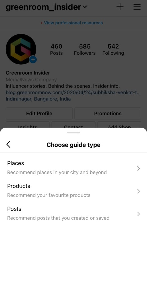 Instagram Guides