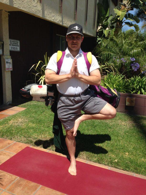 Steve the Golfing Yogi
