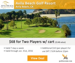 Golf Moose - Avila Beach Golf Resort Tee Times