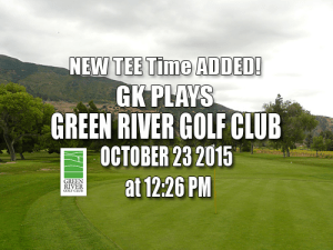 Green River Golf Course Tee Times