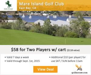 Mare Island Golf Club Tee Times