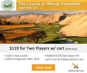 Golf Moose - The Course at Wente Vineyards Golf Tee Times