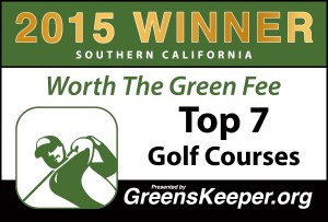 Greenskeeper.org Top 7 Worth the Green Fee Awards 2015