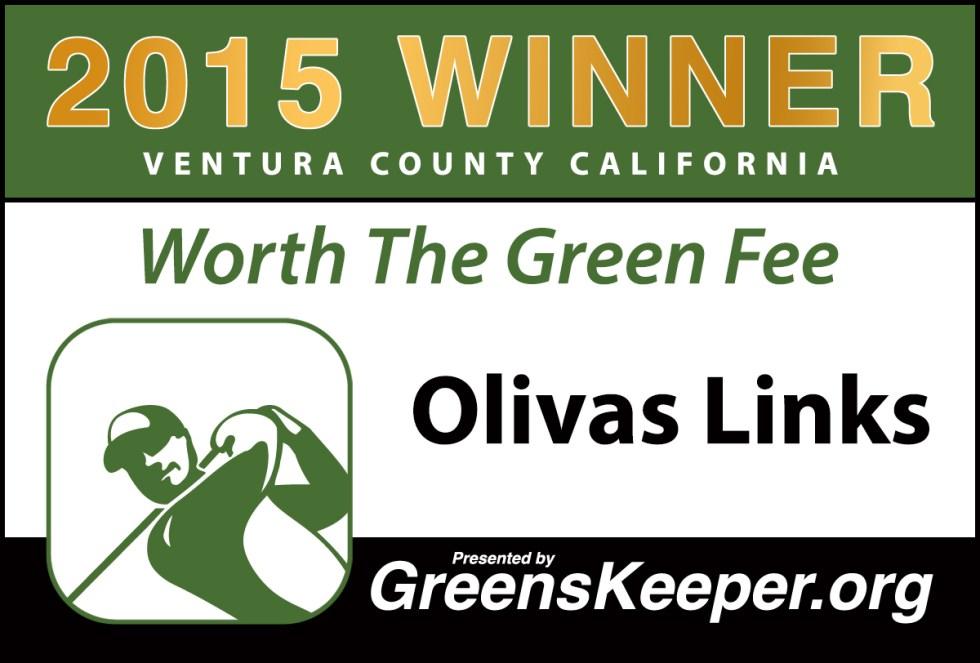 Greenskeeper.Org Worth the Green Fee Award 2015 - Olivas Links