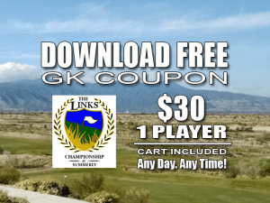 Links Championship at Summerly Golf Course Tee Time Special