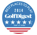 Ojai Valley Inn & Spa - 2014 Golf Digest Best Places to Play