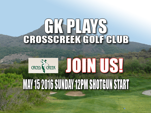 GK Plays CrossCreek Golf Club Tee Time Special