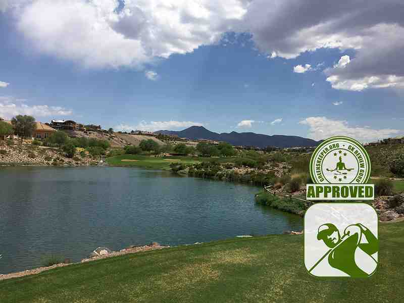 Rio Secco Golf Club Hole 7 view from fairway
