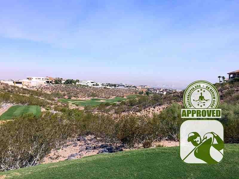Rio Secco Golf Club Hole 11 view from Tee