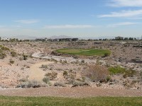 TPC Las Vegas Las Vegas, Nevada, Hole 2 Par 3 196 yards