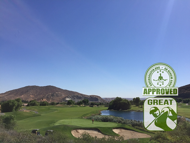 Oak Quarry Golf Club Hole 16 Riverside CA