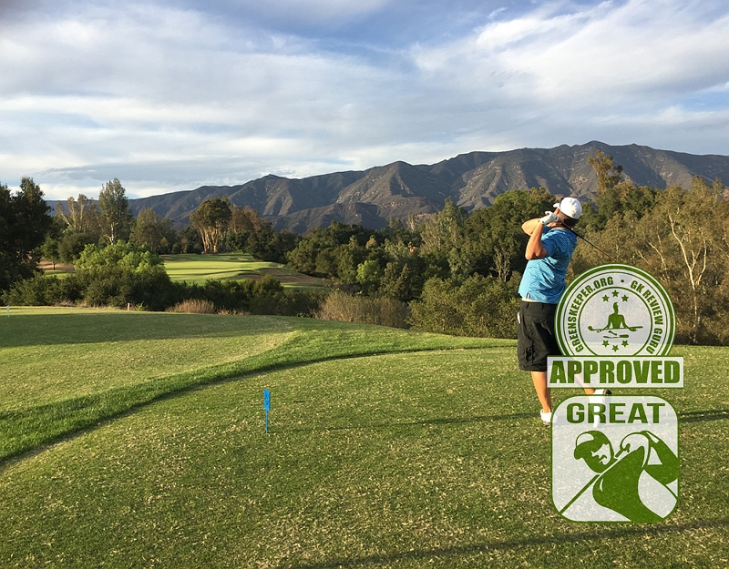 Ojai Valley Inn & Spa Golf Course Hole 17 Tee Ojai, CA