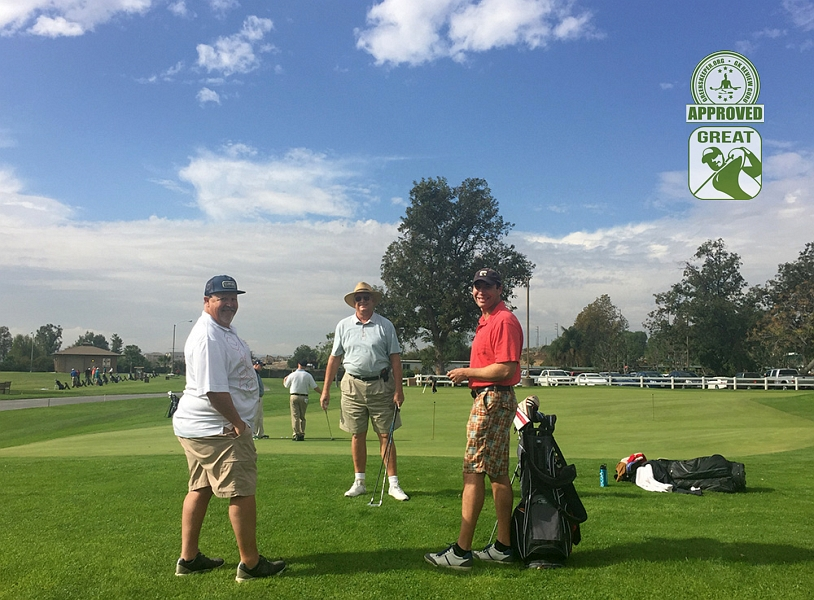 Goose Creek Golf Club Mira Loma California. Dconnally, roarksown1 and sr129 on the practice green