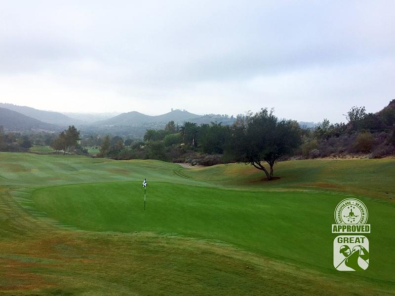 Maderas Golf Club Poway, California. Hole 2