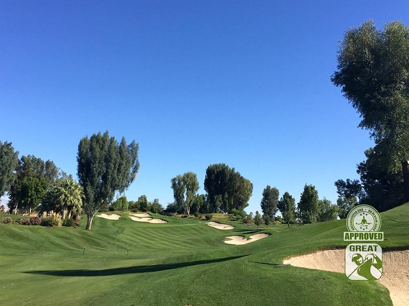 Indian Wells Golf Resort CELEBRITY Indian Wells, California. Hole 5 fairway