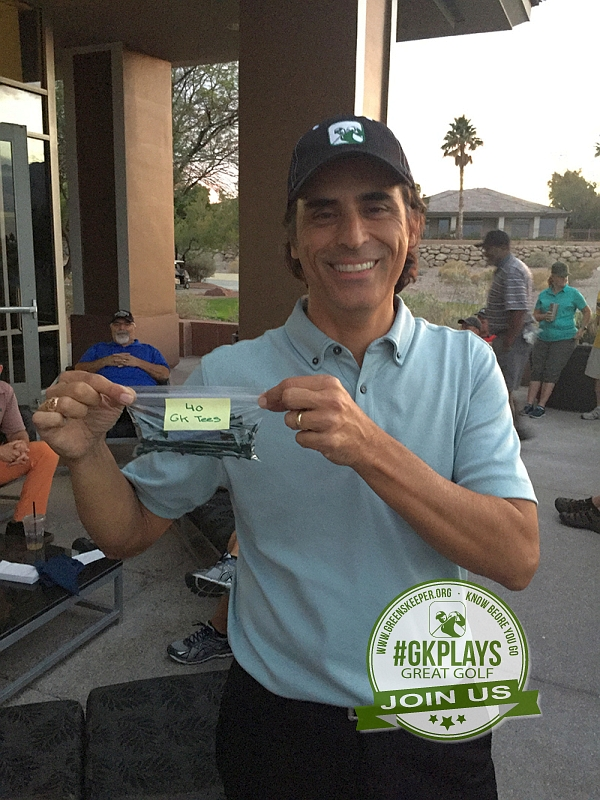 TPC Las Vegas, Las Vegas, Nevada. No one walks away empty-handed at a #GKPlays event, event JohnnyGK can win something
