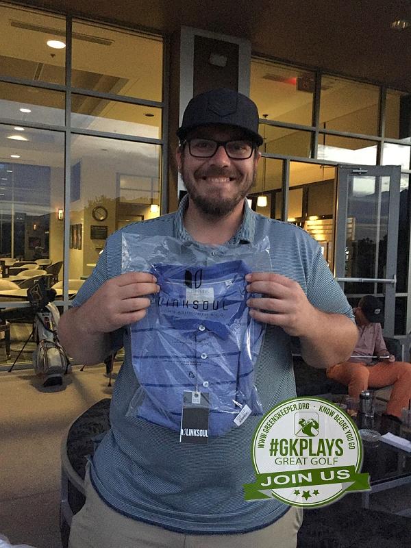 TPC Las Vegas, Las Vegas, Nevada. Cmccartney wins his LINKSOUL gear too. He told me he loves the gear!