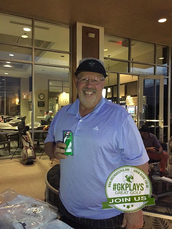 TPC Las Vegas, Las Vegas, Nevada. sr129 shows off his SRIXON Golf SoftFEEL