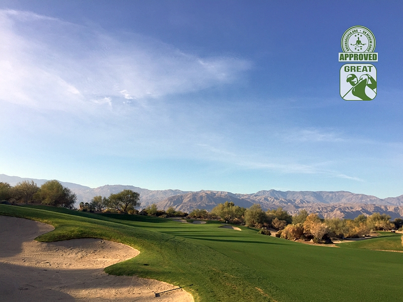 Desert Willow Golf Resort (FIRECLIFF) Palm Desert California. Hole 5