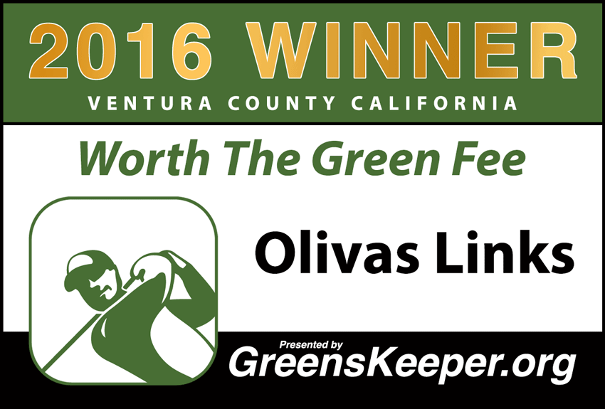 Worth the Green Fee 2016 for Ventura County - Olivas Links