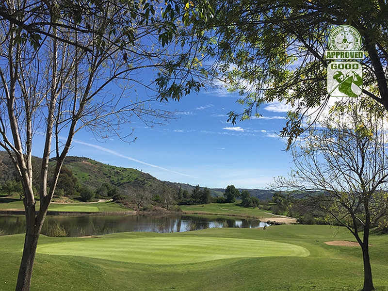 Golf Club of California Fallbrook California. Hole 18