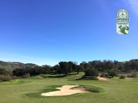 Golf Club of California Fallbrook California. Hole 4
