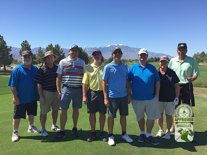 Classic Club Palm Desert California GK Review Guru Visit Group Photo