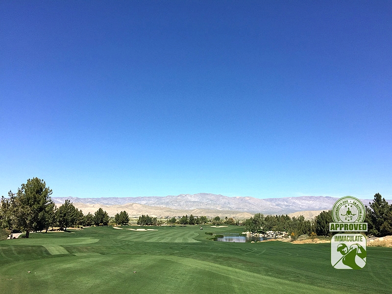 Classic Club Palm Desert California GK Review Guru Visit Hole 3
