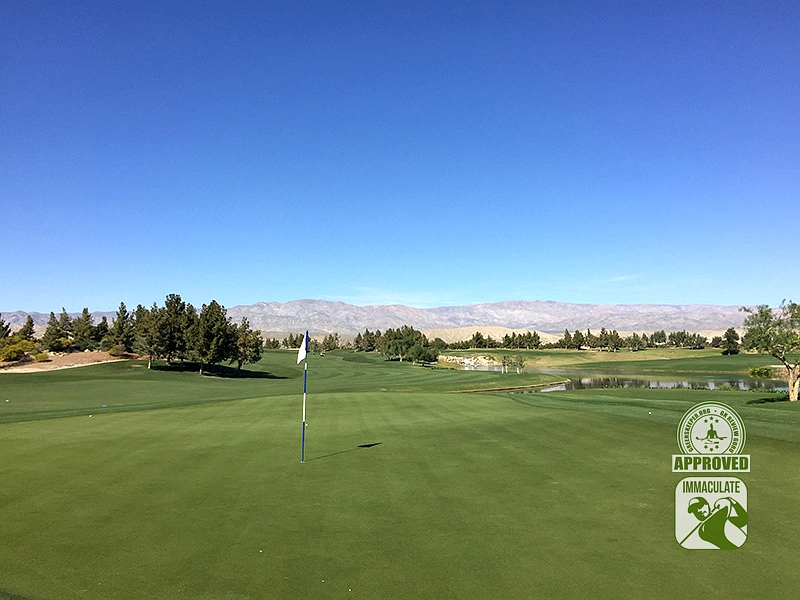 Classic Club Palm Desert California GK Review Guru Visit Hole 9